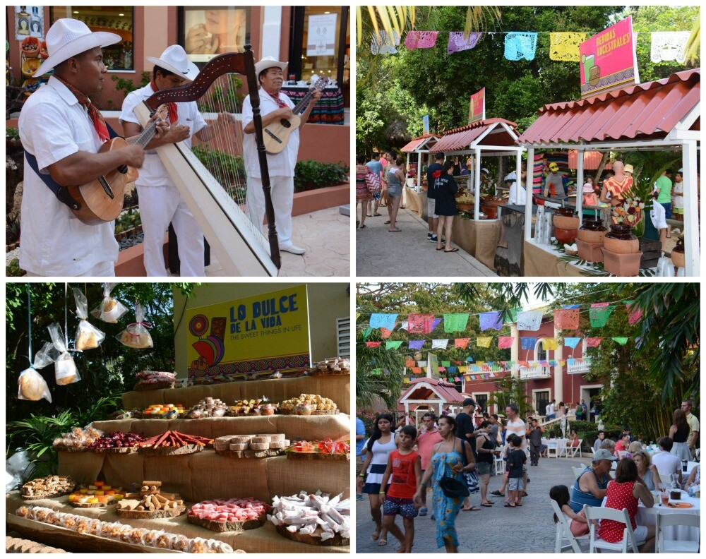 Feria mexicana resort Riviera Maya