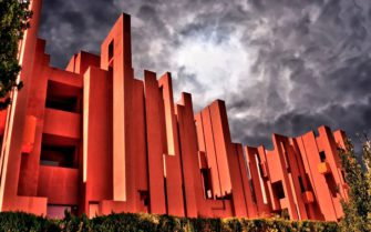 La Muralla Roja, en Calpe, Alicante.