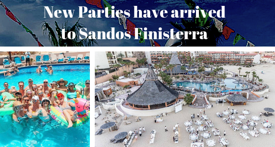 New Parties have arrived to Sandos Finisterra