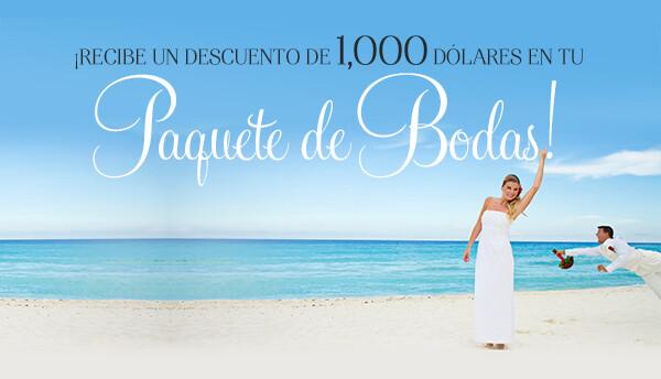 Paquete de boda Riviera Maya