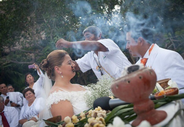 Playa del Carmen Mayan wedding