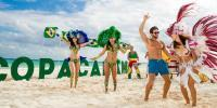 Playa del Carmen beach party