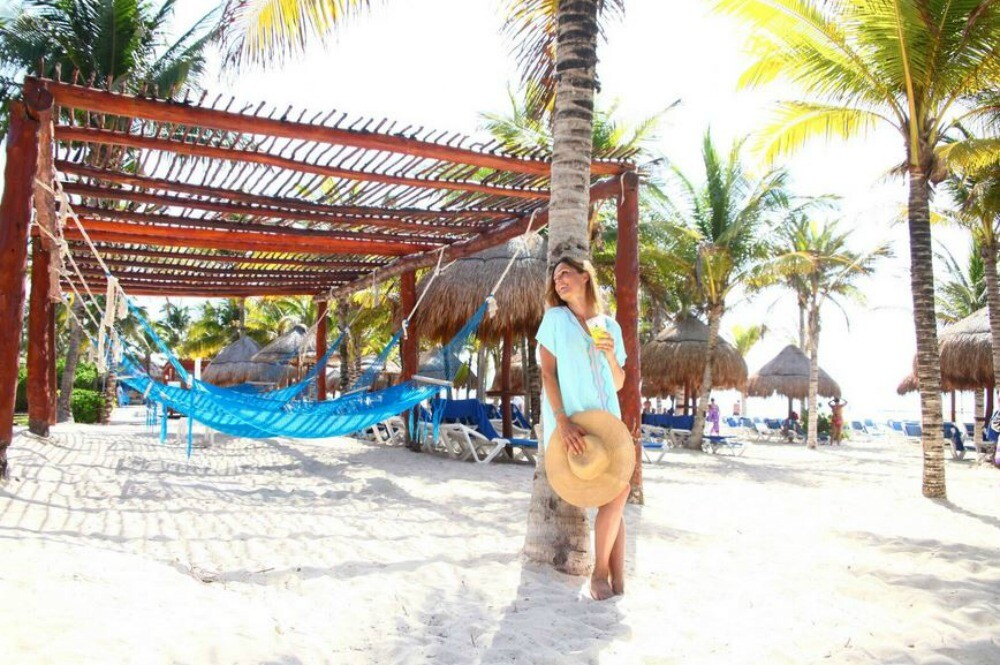 Playa del Carmen resort beach
