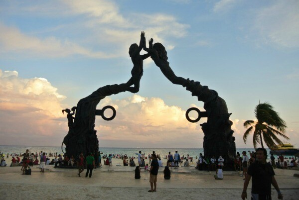 Playa del Carmen sunset