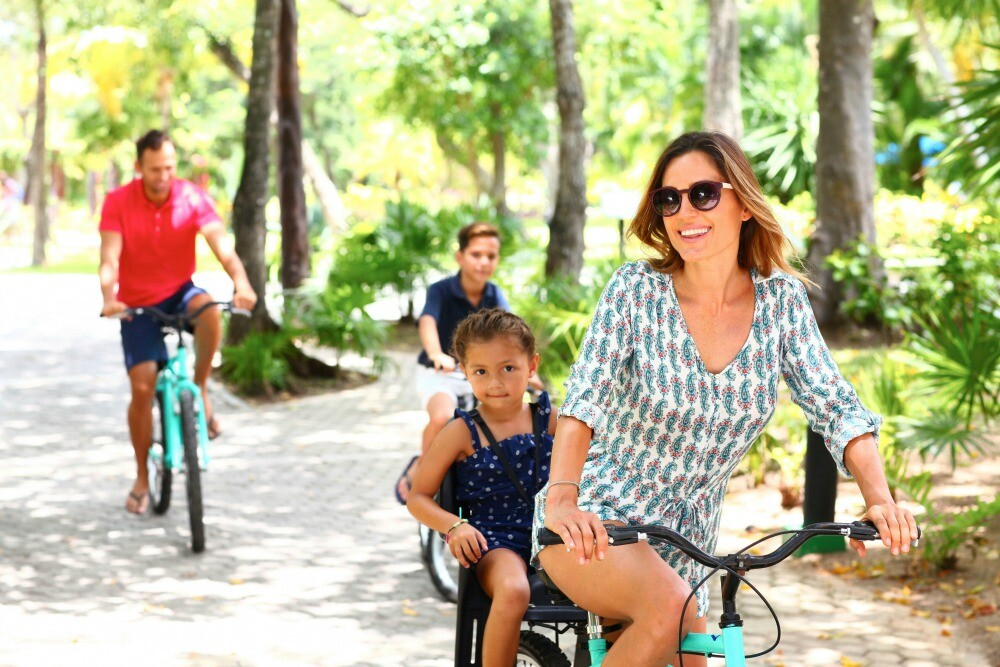 Playacar bike path