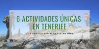 Que hacer en Tenerife con Sandos San Blas