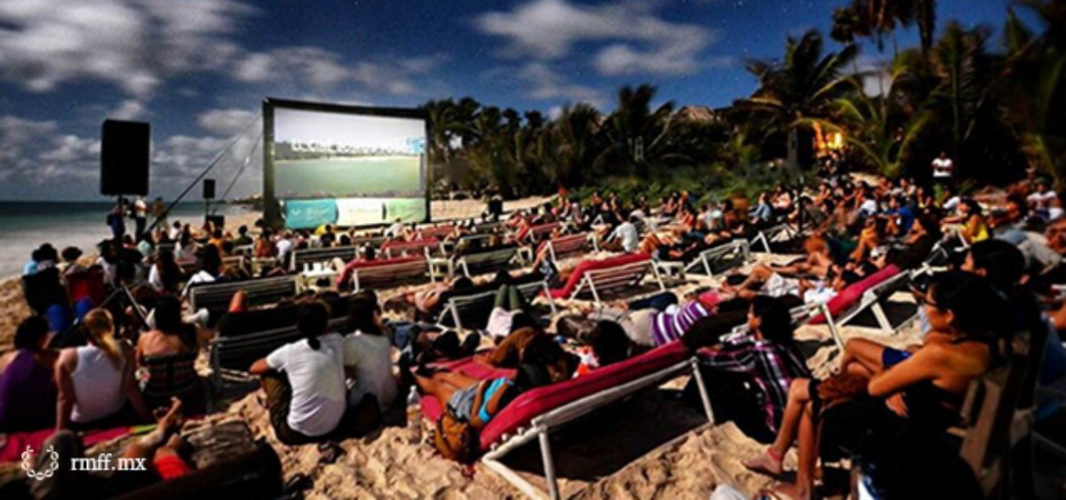 Riviera Maya Film Festival on the beach