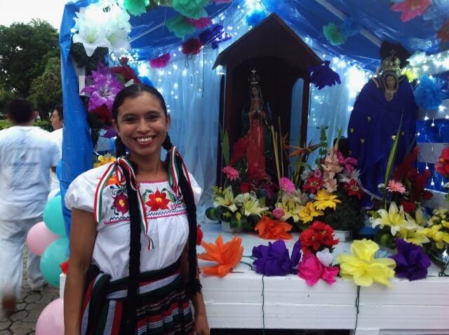 Riviera Maya Peregrinacion Virgen Guadalupe 3