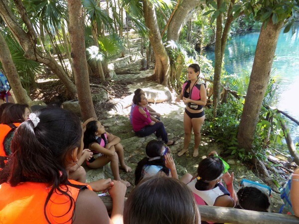 Riviera Maya eco tour for kids