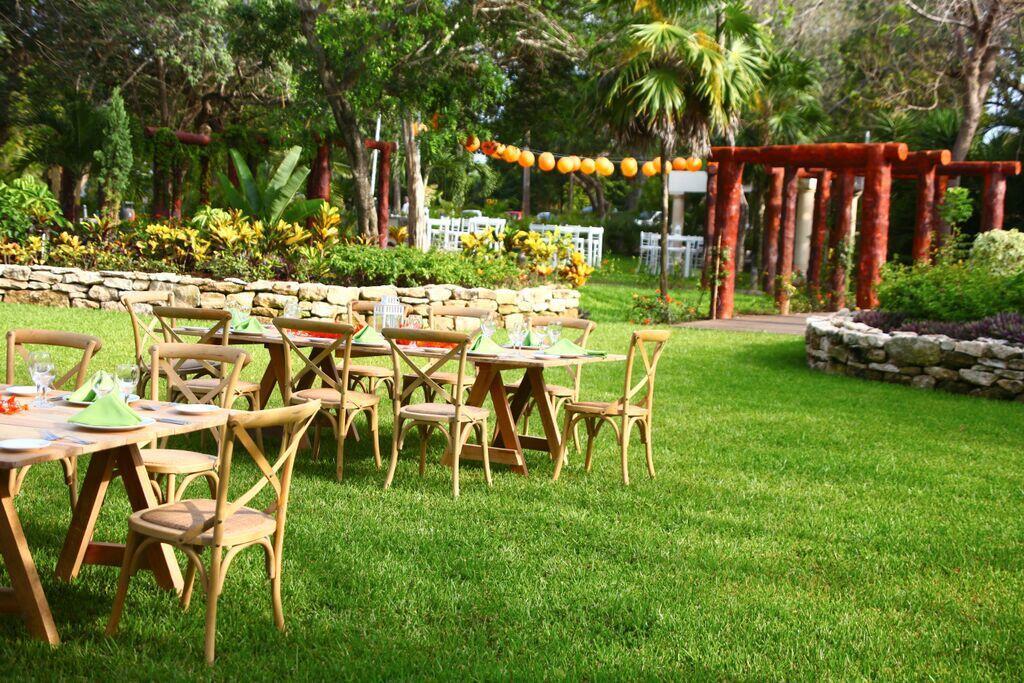 Riviera Maya jardín para eventos