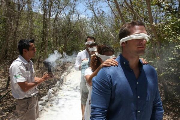 Riviera Maya jungle sensory experience