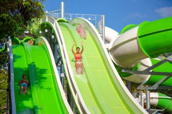 Riviera Maya water slides