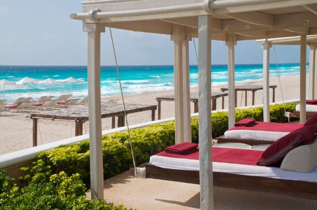 Sandos Cancun Luxury Resort Caribbean Sea