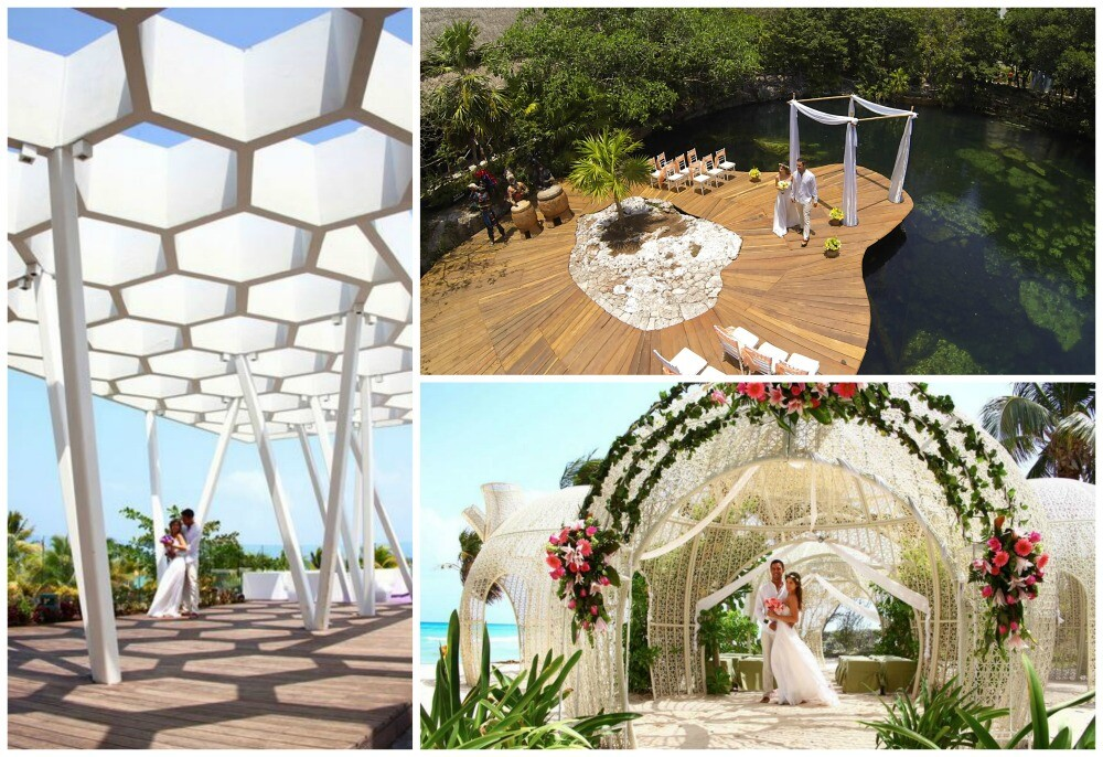 Sandos Caracol Eco Resort Playa del Carmen destination wedding
