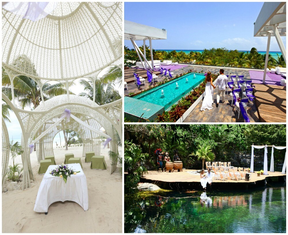 Sandos Caracol Eco Resort Playa del Carmen weddings