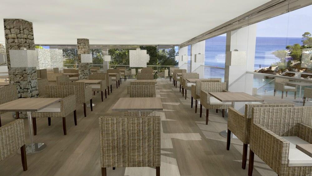 Sandos El Greco Ibiza hotel restaurant