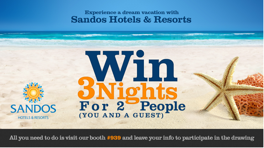 Sandos Hotels and Resorts 3 night stay