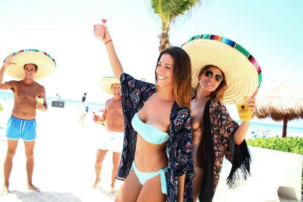Fiesta de playa Riviera Maya