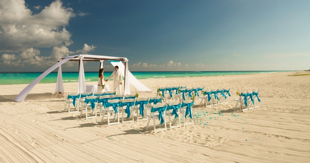 Sandos Playacar Riviera Maya destination wedding resort