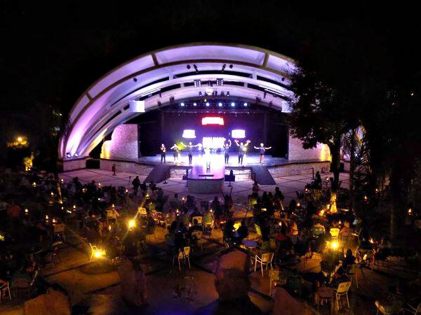 Sandos Playacar resort stage