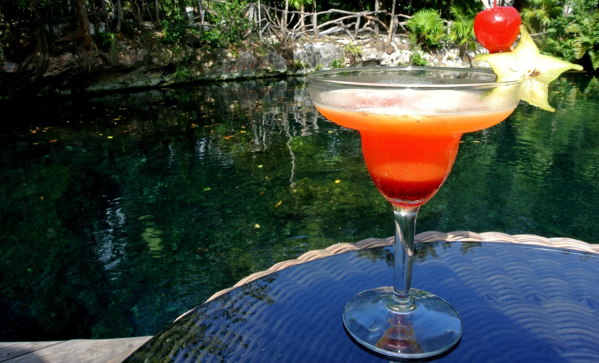 Sandos Riviera Maya resort cocktail