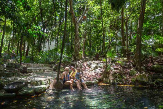 cenote sandos caracol