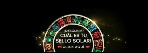 Sello solar maya