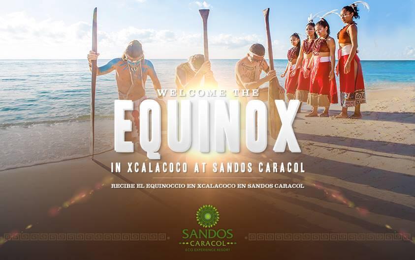 Spring Equinox at Sandos Caracol Riviera Maya resort