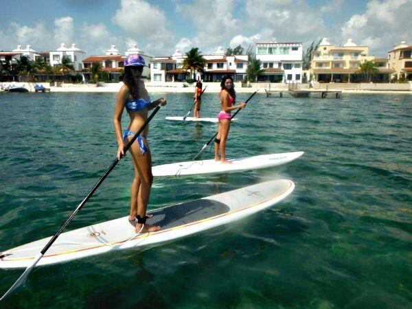 Stand Up Paddleboarding Cancun