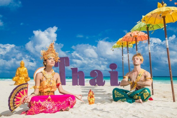Thai beach theme