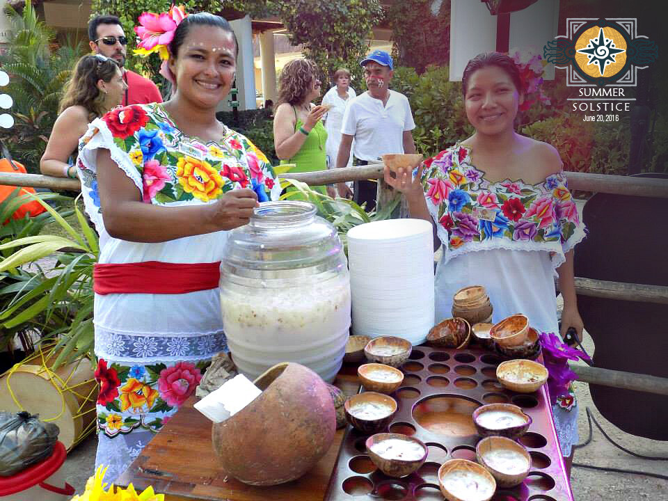 Traditional Mayan drinks