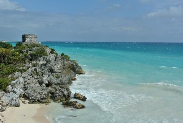 Tulum Mayan ruins Rivier Maya