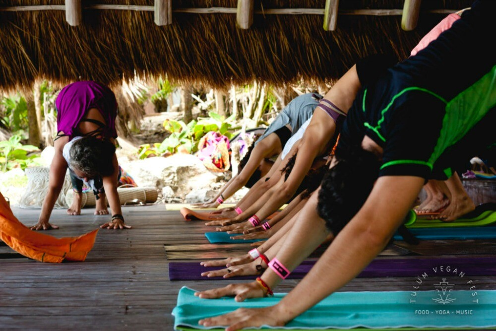 Tulum Vegan Fest yoga conference