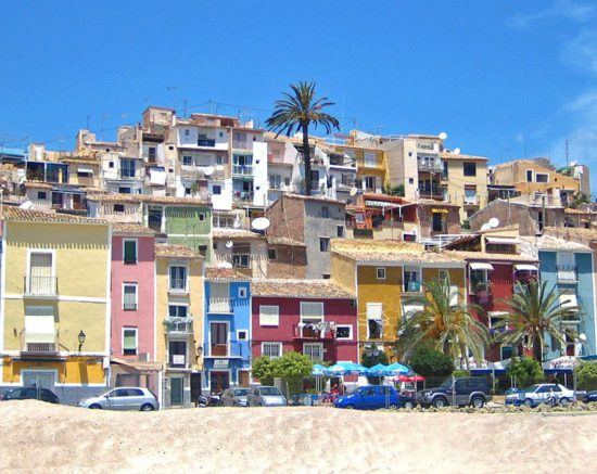 Villajoyosa, route by Car to the Costa Blanca