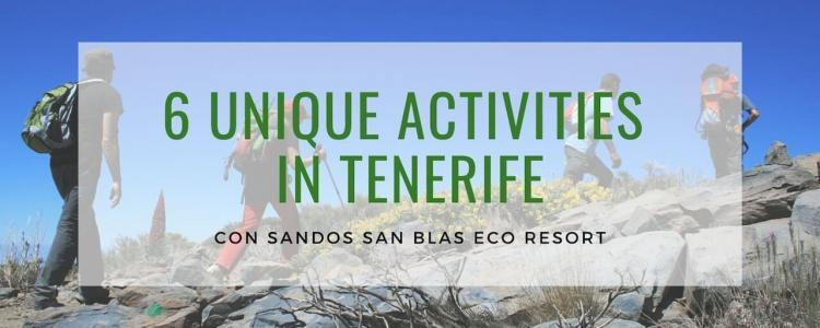 What to do in Tenerife with Sandos San Blas