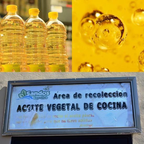 So far in 2018, Sandos Caracol has recovered more than 1,500 liters of vegetable cooking oil for further treatment and combustion