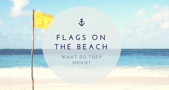beach flags