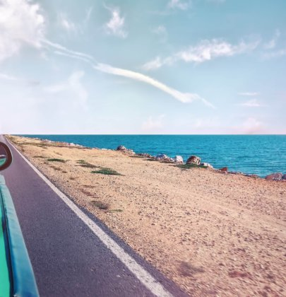 The best route by car along the Costa Blanca