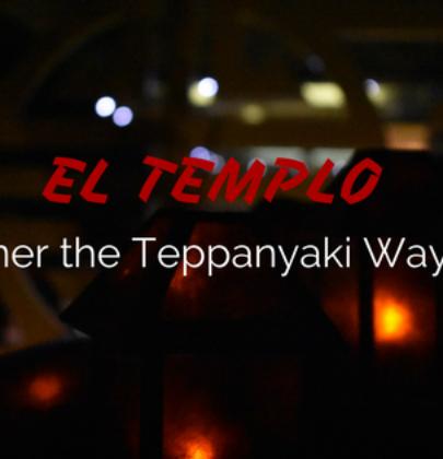 Dinner the Teppanyaki Way!