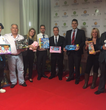 Charity campaign to collect toys in Benidorm
