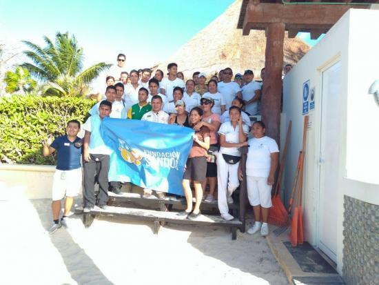 limpieza playa fundacion sandos grupo