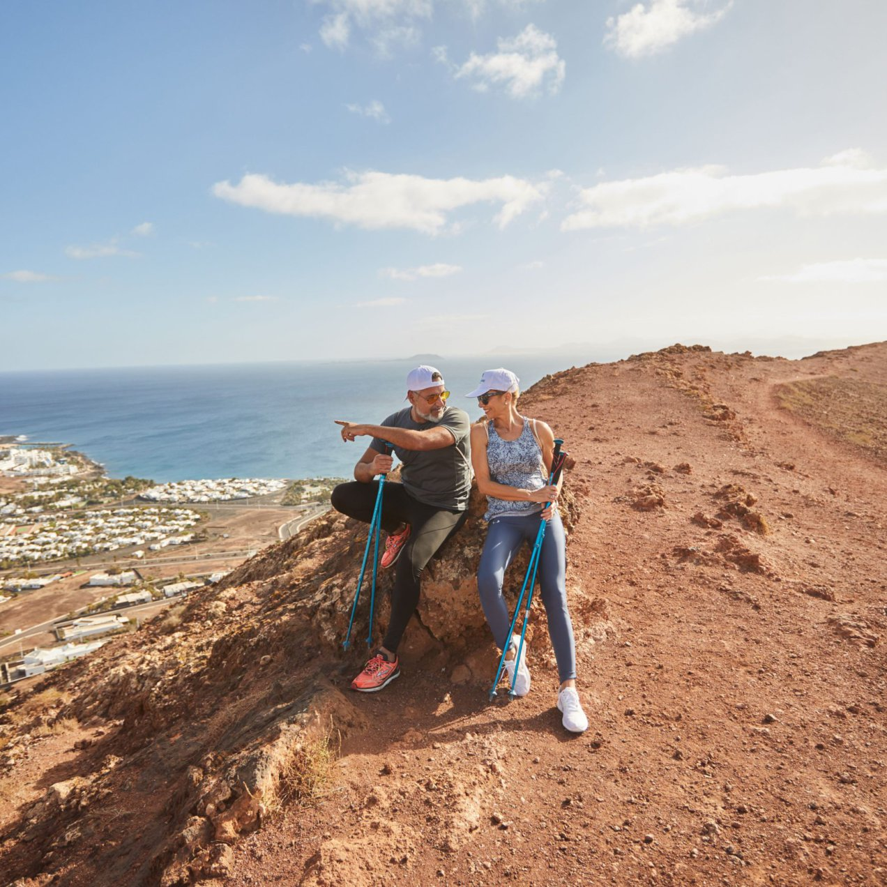 The Red Mountain: Hiking Route in Playa Blanca